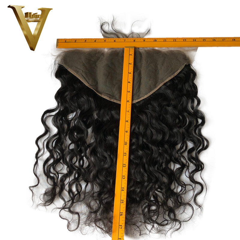 Ear To Ear 13x6 Lace Frontal Closure Natural Wave Brazilian Virgin Human Hair Lace Closure Free
