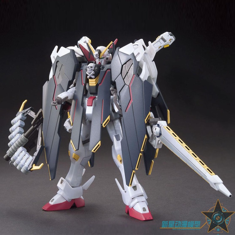 Original Gundam Model HG 1/144 CROSSBONE X1 FULL CLOTH TYPE GUNDAM NT Mobile Suit Kids Toys
