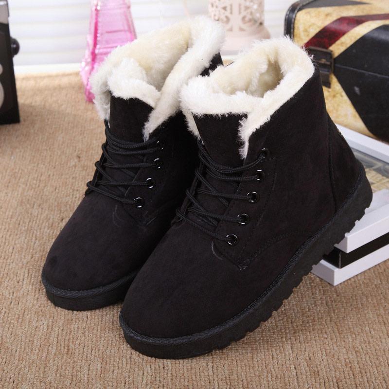 chaussures d 39 hiver pour femme pas cher. Black Bedroom Furniture Sets. Home Design Ideas