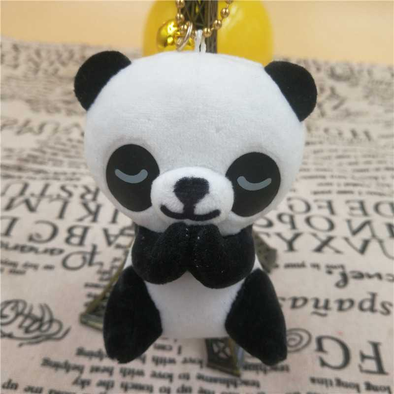 Mainan Mewah Hewan Lucu Berkat Lembut Katak Panda Anjing Liontin Dekoratif Ransel Boneka Dekorasi Biarkan Beruntung Mainan untuk Anak