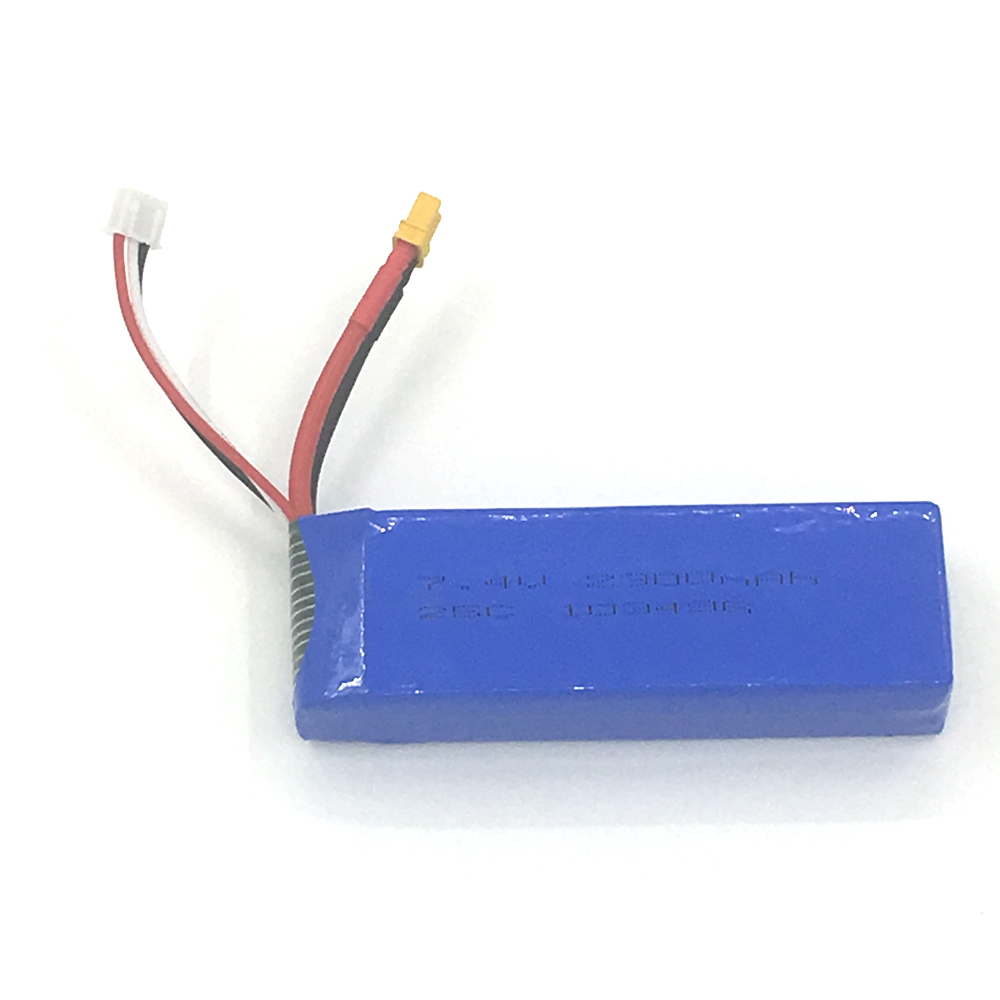 Upgrade MJX B3 <font><b>7.4V</b></font> <font><b>2300mah</b></font> Lipo <font><b>battery</b></font> 2S For MJX Bugs 3 RC Helicopter image