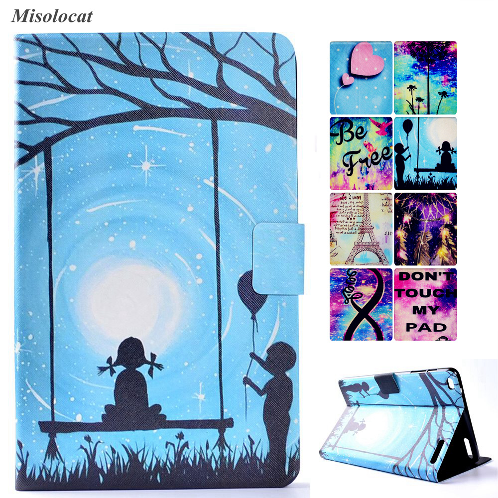 for Huawei Mediapad T1 10 Case Stand Flip Cover Magnet Funda for Honor Tablet Note 9.6 T1-A21W T1-A21L T1-A23L Capa Coque