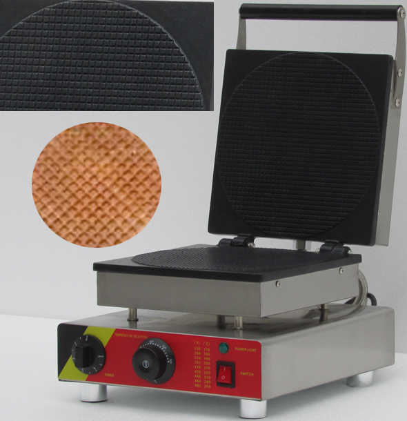 factory price ice cream waffle cone maker,round egg roll waffle maker, waffle making machine