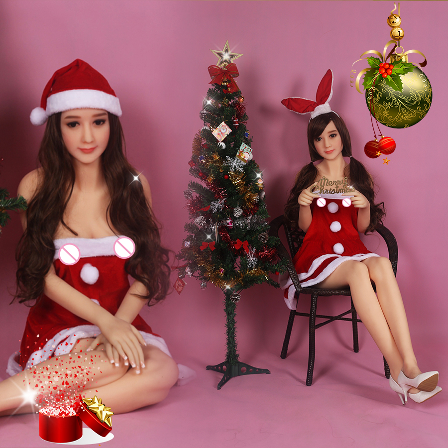 158cm Christmas Real Silicone Sex Dolls Japanese Oral Anal Lifelike Vagina Big Breast Love Doll For Male Masturbator Adult toy 158cm real silicone sex dolls full lifesize oral anal vagina big breast ass feet female love doll for male adult toys japanese