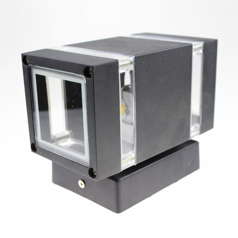 Modern Outdoor Waterproof LED Wall Lamps AC90-260V With 2*3W LED IP65 Aluminum Courtyard Garden Porch Corridor Lights GWL085 18w led outdoor waterproof wall light ip65 modern nordic style indoor wall lamps living room porch garden lamp ac90 260v lp 42