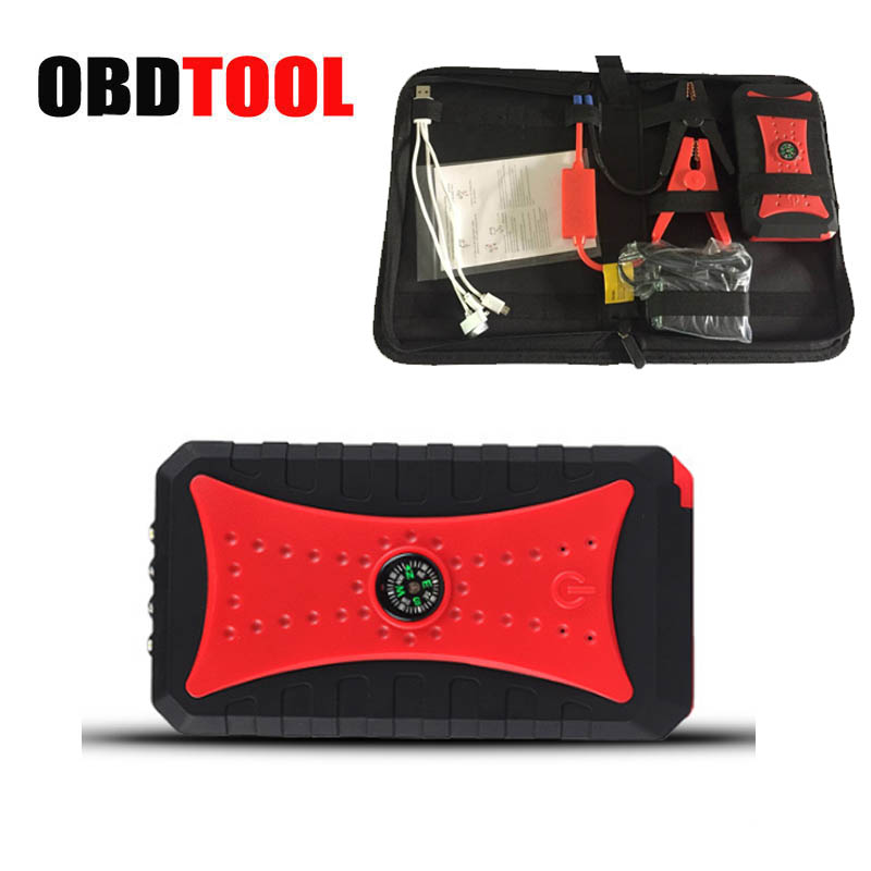 ObdTooL 12000MAH 12V Car Battery Jump Starting Booster Multi-function LED SOS Light Portable Auto Emergency Power Bank JC10 13500mah 12v multi function mobile power bank tablets notebook phone ca r auto eps starter emergency start power