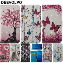 DEEVOLPO Case For Samsung Galaxy S8 Plus S7 S6 Edge J3 A3 A5 J5 2016 J7 2017 Note8 Xcover4 Bling Flip Cover Tower Chimes DP03H