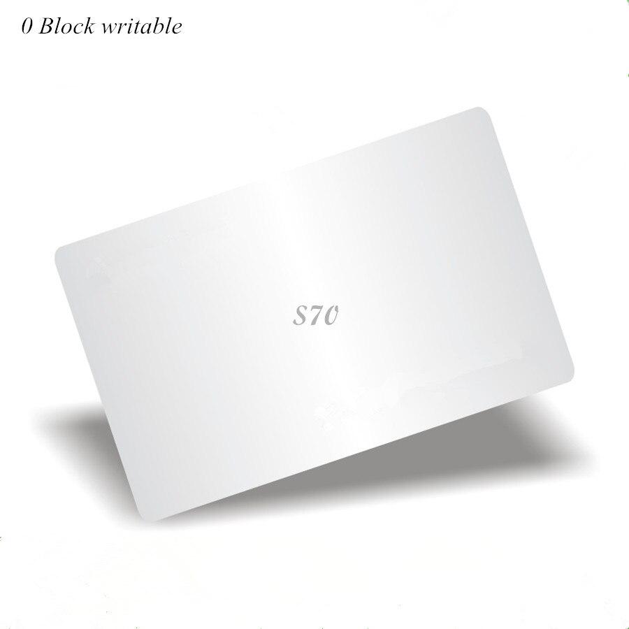 13.56 Mhz M4k S70 7 octet UID modifiable Carte 0 bloc inscriptible Chinois Carte Magique13.56 Mhz M4k S70 7 octet UID modifiable Carte 0 bloc inscriptible Chinois Carte Magique