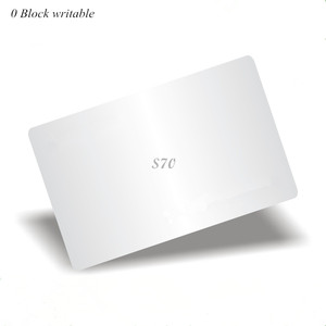 Image 1 - 13.56Mhz M4k S70 7byte UID changeable Card 0 block writable Chinese Magic Card