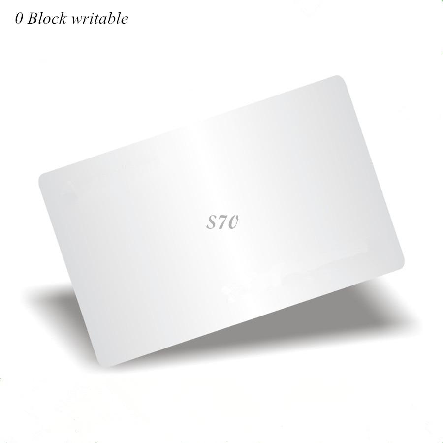 13.56Mhz M4k S70 UID changeable Card 0 block writable Chinese Magic Card чехол k s kids для k magic