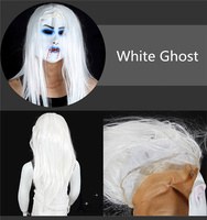 Free Shipping Scary Zombie Ghost Sadako Mask Toy Soft Rubber Halloween Party Costume Dress Make Up