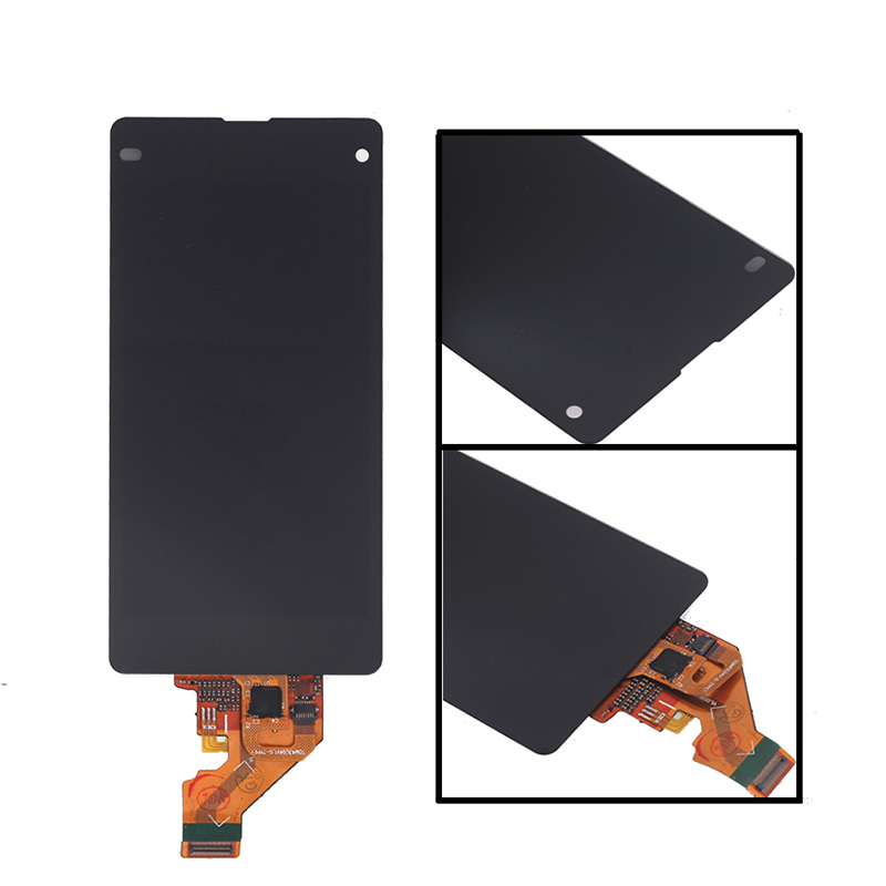 Image 2 - 4.3'' LCD monitor for Sony Xperia Z1 mini compact D5503 M51W LCD monitor touch screen digitizer mobile phone components + tools-in Mobile Phone LCD Screens from Cellphones & Telecommunications