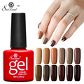 Saviland 1pcs Brown Series Long Lasting Esmaltes Uv Led Gel Nail Polish Color Gel Lacquer Soak Off Primer Top Base Coat