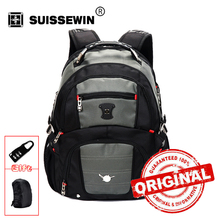 "Mochila Escolar Suissewin Pegasus Quality Laptop Bag Double-shoulder Travel Backpack Military 15"" 16"" Bags Brand Sale Sn8112"