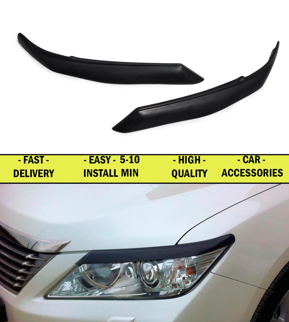 Cilia eyebrows for Toyota Camry XV50 2011-2014 ABS plastic moldings lights interior design light car styling lights decoration