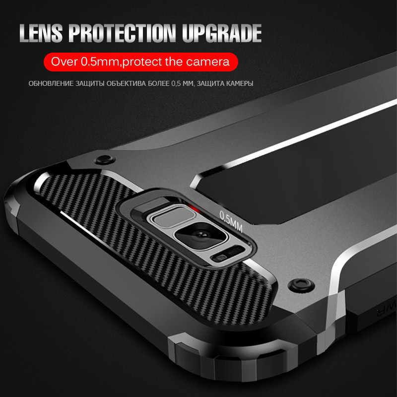 Роскошный защитный противоударный чехол-бампер для samsung Galaxy S8 S9 S10 Plus, силиконовый чехол для телефона для samsung Note 8 9 S10e, чехол-крышка