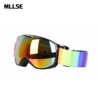 Ski Goggles Winter Snow Sports Snowboard Goggles With Anti Fog UV Protection For Kids Children Snowmobile