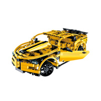High Speed Model Building Blocks Remote Control Race Car Machine RC Car Radio Controlled Cars Toys For Boys Game