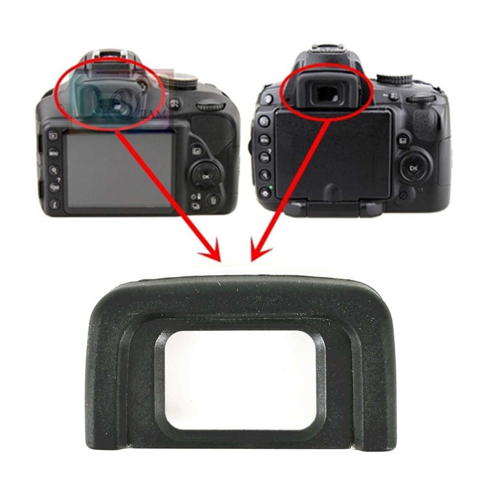Rubber Eyepiece Eyecup Eye Cup Replace DK-25 for Nikon D5600 D5500 D5300 D5200 D5100 D5000 D3500 D3400 D3300 D3200 D3100 DK25 - ANKUX Tech Co., Ltd
