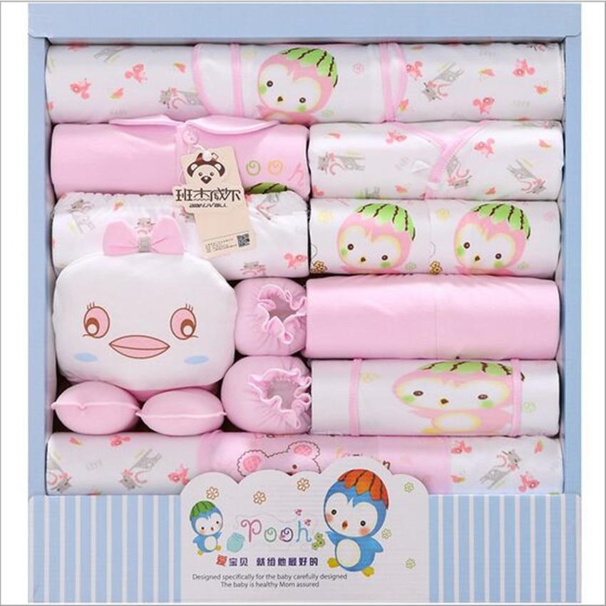 Cotton Uni Newborn Gift Sets Summer Baby Girls
