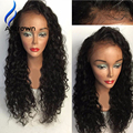 Glueless Full Lace Curly Human Hair Wig Indian Remy Human hair Lace Front Wigs For Black Women Lacefront Wig With Baby Hair