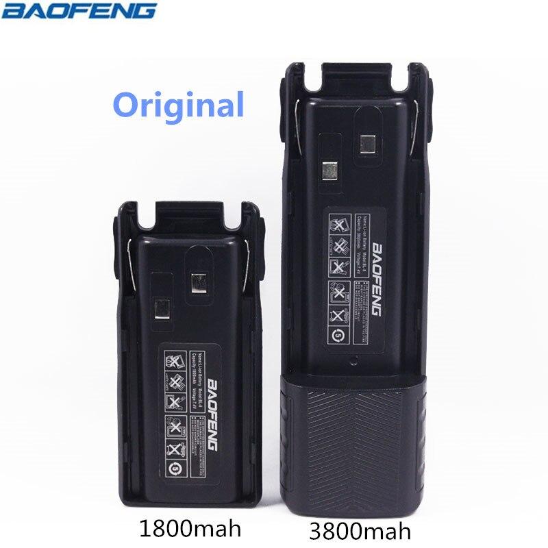 D'origine BAOFENG UV-82 BL-8 7.4 v 1800 & 3800 mah Li-ion Batterie Pour Baofeng Talkie Walkie BF-UV82 Série Deux Façon radio UV 82 Radio