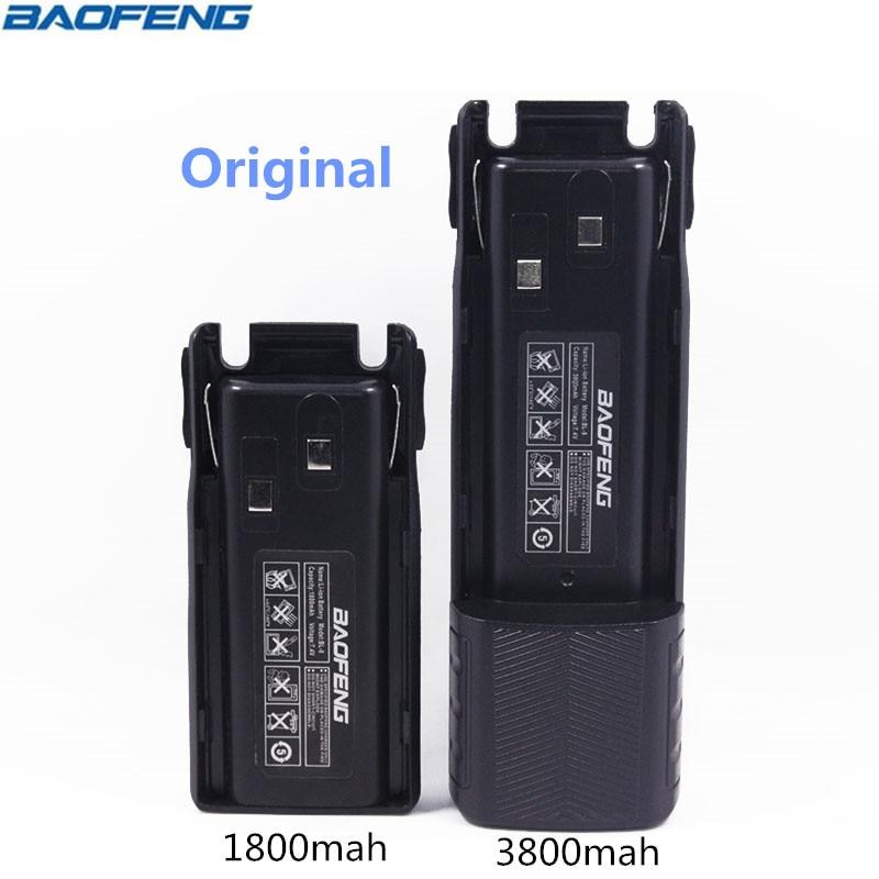 Original BAOFENG UV-82 BL-8 7,4 v 1800 & 3800 mah Li-Ion Akku Für Baofeng Walkie Talkie BF-UV82 Serie Zwei Weg radio UV 82 Radio