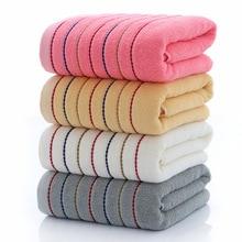 Полосатый хлопковый набор полотенец, большое толстое банное полотенце, для ванной, для лица, для душа, полотенца для дома и гостиниц для взрослых детей, мягкие toalla de ducha