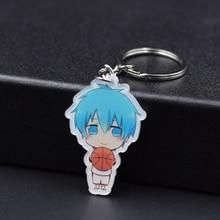 Kuroko's Basketball Keychain 13 Styles Kuroko Tetsuya Key Chains Pendant Hot Sale Custom made Anime Key Ring FQ1