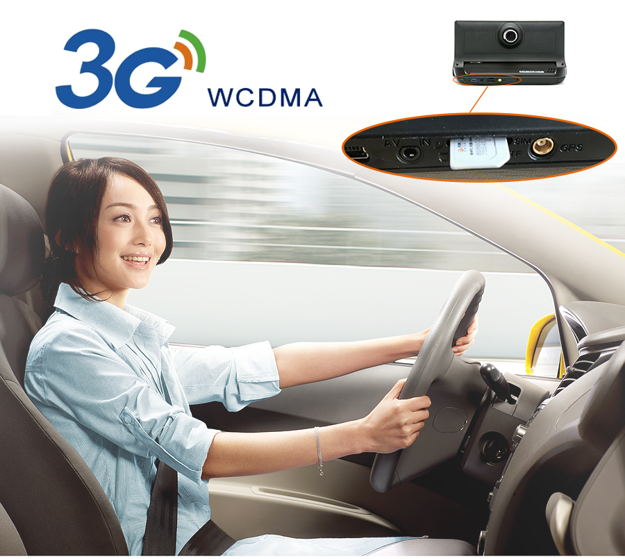 "Junsun 3G Car DVR GPS Camera 6.86""Android dash cam Full HD 1080p Video recorder Wifi Bluetooth registrator Dual lens dvrs Camera 8"