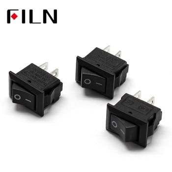 15x10mm mini Rocker interruptor 3A 250V 2 pines-mini interruptores basculantes