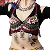 ATS Trible Hand Made Shell Coin Beading Belly Dancing Costumes Underwear Bra Top New Arrivals 2018