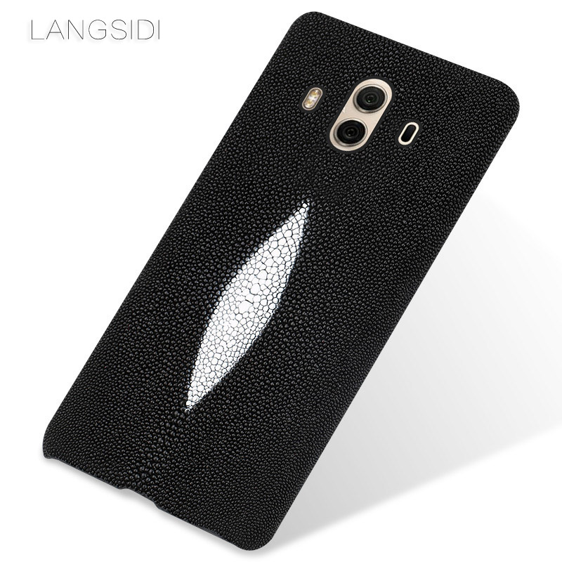 wangcangli brand mobile phone case pearl fish half a pack of For Huawei Mate 10  custom processing