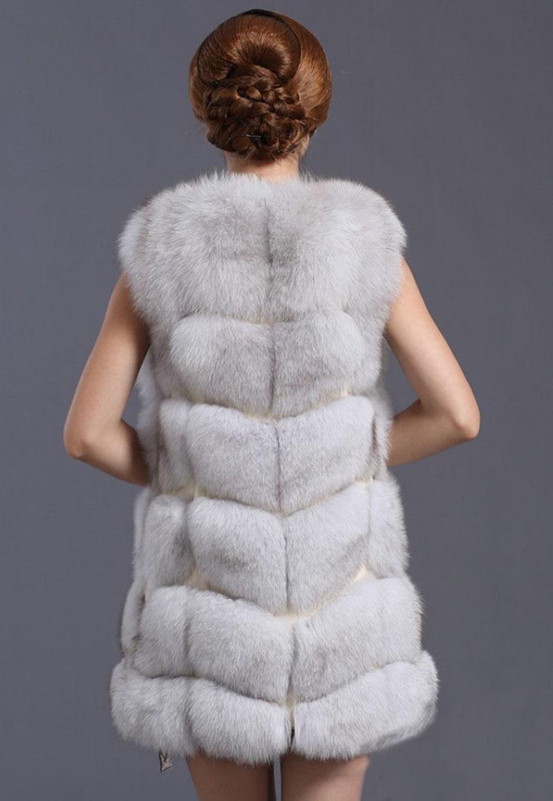 As Hiver Silver Femmes Pictures Fox Vk1008 Veste Femme Vest De Fur Manteau Gilet Dames Pictures topfurmall Luxe Véritable Fourrure as Survêtement SqTUwvBB