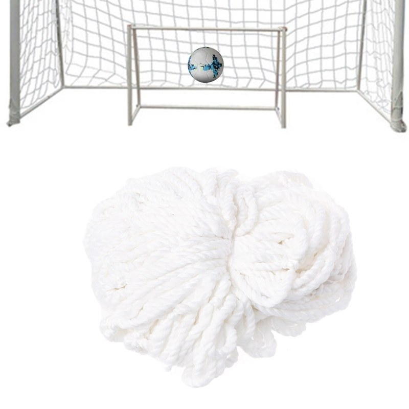 Large Profession Football Soccer Goal Post Net Ball Toy Game Training Use White selling image
