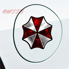 Resident Evil Corporation Umbrella Cartoon Glue Sticker Car Decal Covers Waterproof Reflective On Fuel Tank car styling for car