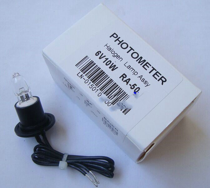 para a Lâmpada de Halogéneo Bayer Ra-50 Biochemistrey Analisador Semi Automático Ra50 6v10w Fotômetro Lâmpada 6 v 10 w