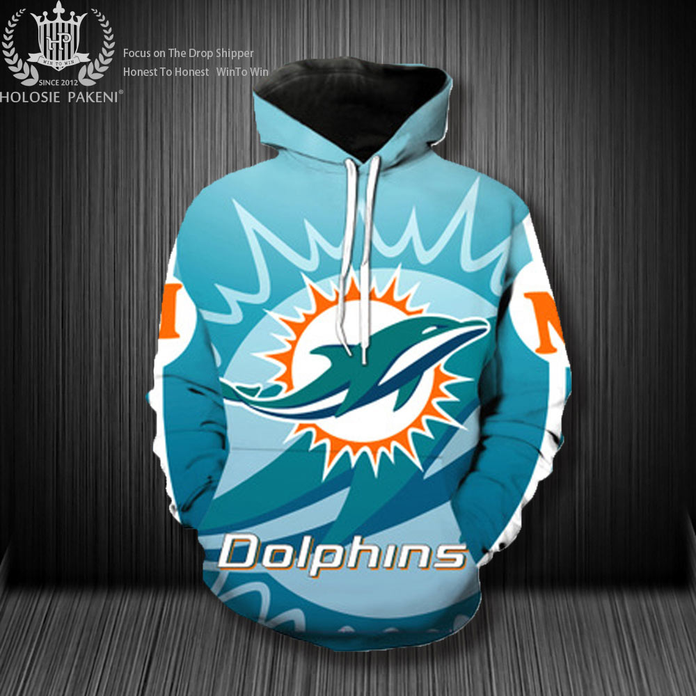 Dropshipping USA Size Detroit Lions Costumize Unisex 3D Sweatshirts Streetwear Denver Broncos Casual Tracksuit Pullover