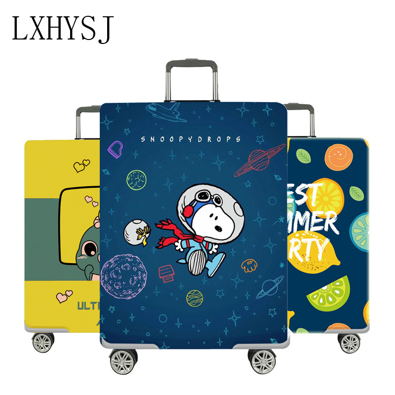 The New Luggage Protective Cover Elastic Dust Cover Suitable For 18-32 Inch Trolley Suitcase Dust Cover Travel Accessorie