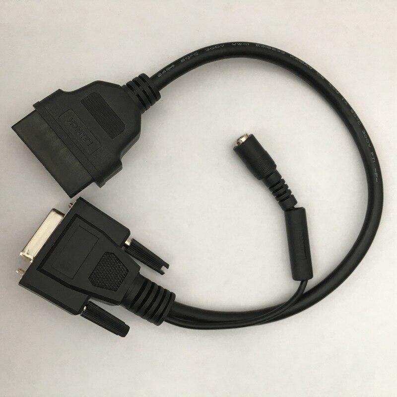 LANCEMENT X431 Extension Câble COM À OBD2 Connecter le Câble pour X431 GDS/Idiag/Easydiag/V/3 g/Diagun2/