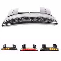 Clear Chopped Fender LED Turn Signal Tail Light For Harley XL883 XL1200 72 48 XL
