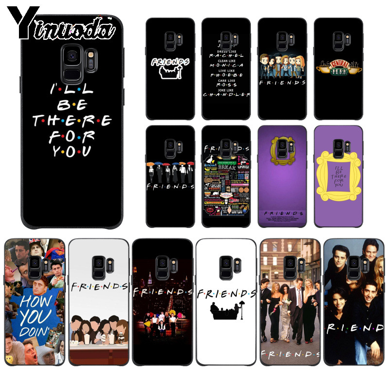 Yinuoda Phone-Case S8plus S7edge Central Perk Tv-Show Coffee-Friends Samsung S9 For S5