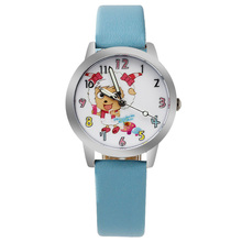 o3 2017 Hot Selling Cheap cartoon watch leather Children Kid's Watch Cartoon Despicable me minions Sport Watch 10pcs