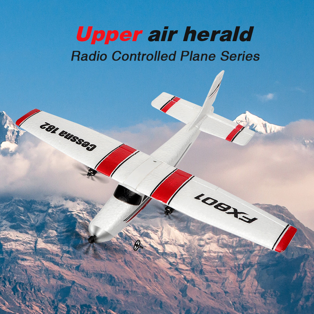 RC Airplane Plane FX801 20 Minutes Fligt Time Gliders 2.4G Flying Model Hand Throwing Wingspan Foam Plane Toys Kids Gifts