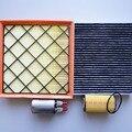 Лучшие товары # воздушный фильтр + Масляный фильтр + кабина кондиционер фильтр Топливный фильтр для Chevrolet Cruze