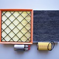 best goods # air filter + Oil filter + cabin Air conditioning filter + Fuel filter for Chevrolet Cruze
