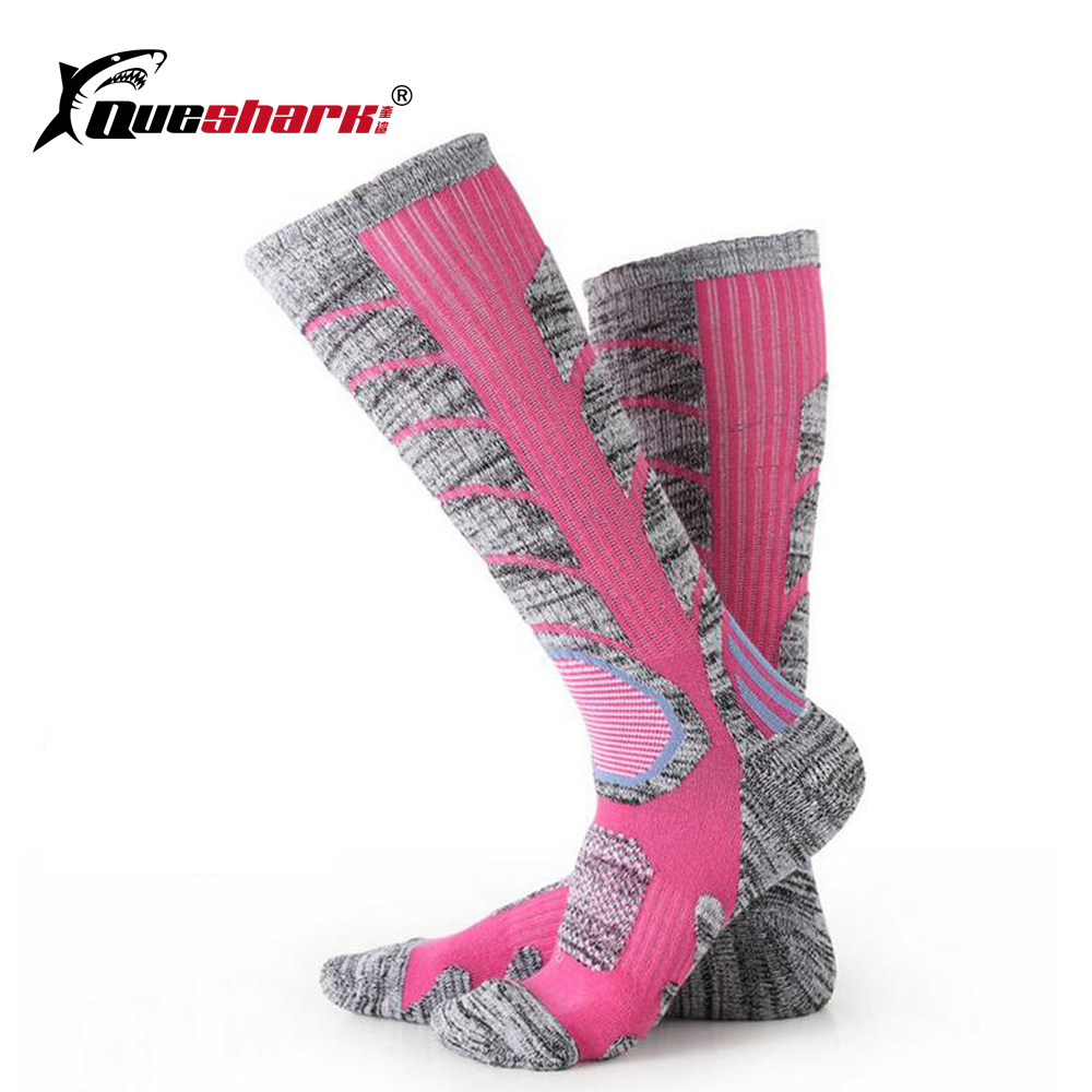 Warm Thermal Ski Socks Thick Cotton Sports Cycling Skiing Soccer Socks Leg Warmers Hiking Camping Long Socks