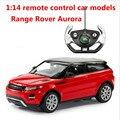1:14 дистанционного управления автомобилем модели, Range Rover электрический автомобиль, пластиковые diecasts, toy транспорт, educational toys gifts, бесплатная доставка