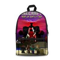 Lego Minecraft Backpack Commemorative Bag School Bag Surplise For Kids Gifts Toys Halloween Surport Dropship Wholesale