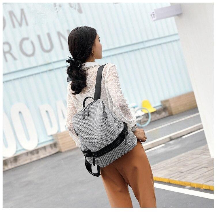 QINRANGUIO Nylon Backpack Women 2019 Fashion Women Backpack Large Capacity School Bags for Teenage Girls School Backpack Travel